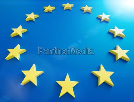 caucasico europeo europa bandera estrellas asteriscos