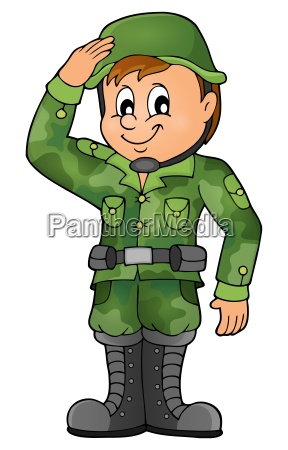 male soldier theme image 1