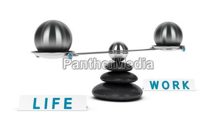 arbeit und leben gleichgewicht dichotomie