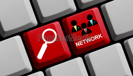 im sozialen netzwerk suchen