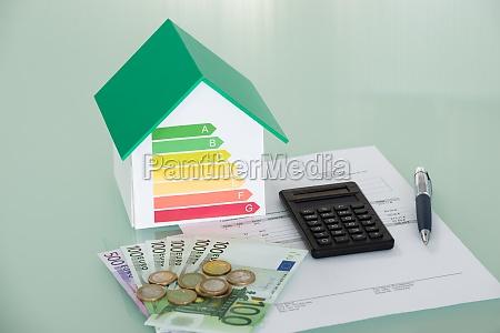 energy efficiency rate mit rechnung und