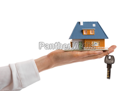 buying new real estate concept small