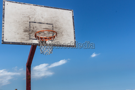 blau ball korb sport basketball korbball