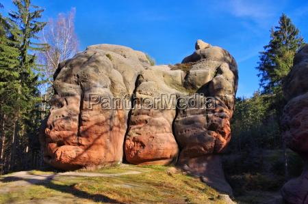 zittauer gebirge kelchstein chalice rock