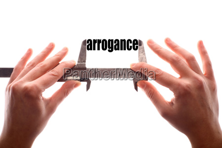 small arrogance concept