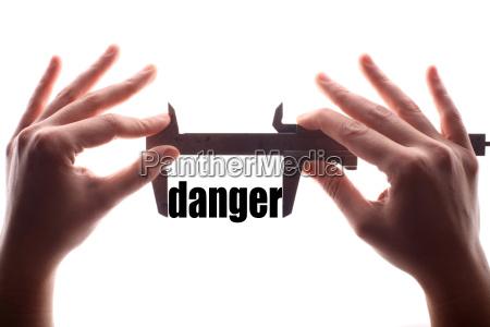 small danger concept