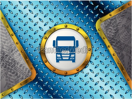 abstract industrial background with tire tracks