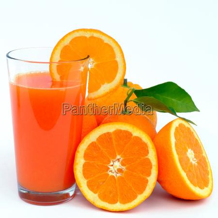 saft von orangen und zitronen
