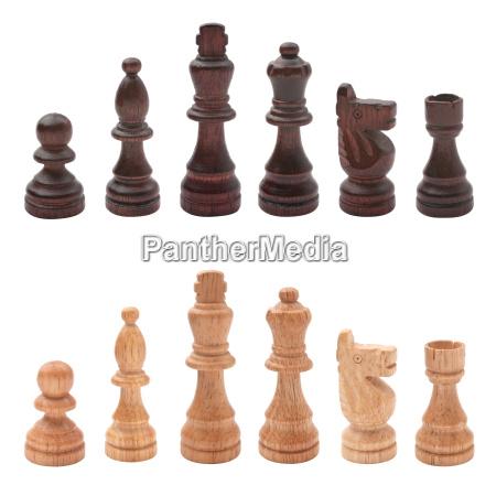 schachfiguren, einzeln, , freigestellt - 16172697