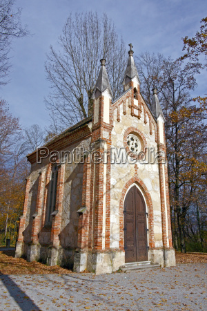 catholic chapel in forest