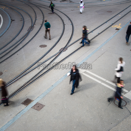 städtischen, verkehrskonzept, -, stadtstraße, mit, einer - 16194597