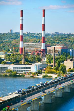 kiev industrial city ukraine