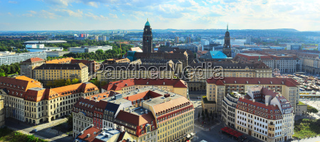 dresden aerial view