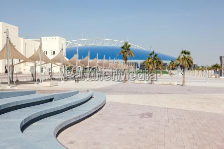the aspire zone in doha qatar