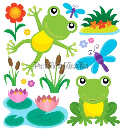 frog thematic set 1