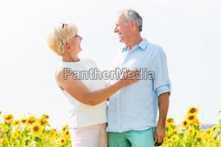 senior man and woman a couple
