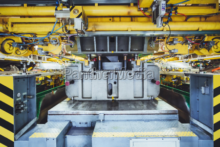 stamping line on car manufacture