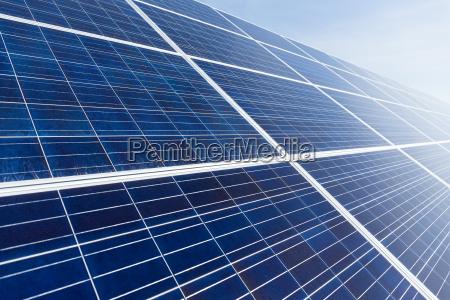solar panel close up