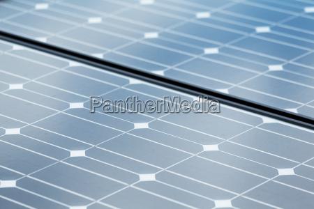 solar panel texture close up