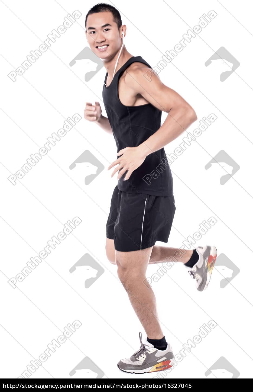 laufen, hilft, mir, fit, zu, halten! - 16327045