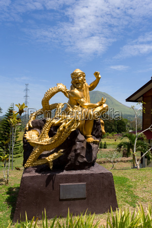 fat, monk, statue, in, complex, pagoda - 16328067