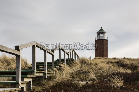 germany schleswig holstein sylt kampen lighthouse