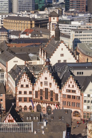 deutschland hessen frankfurt am main blick
