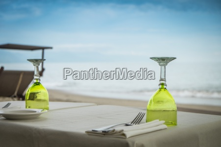 mexico jalisco puerto vallarta laid table