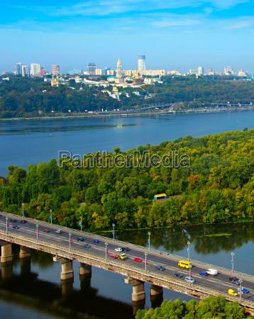 top view of kyiv ukraine