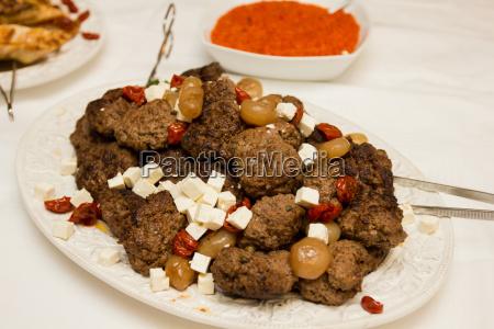 catering lebensmittel fleischbaellchen