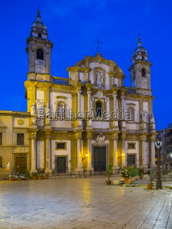 italy sicily palermo san domenico church