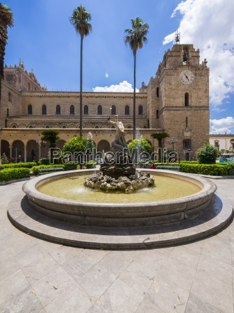 italy sicily province of palermo monreale