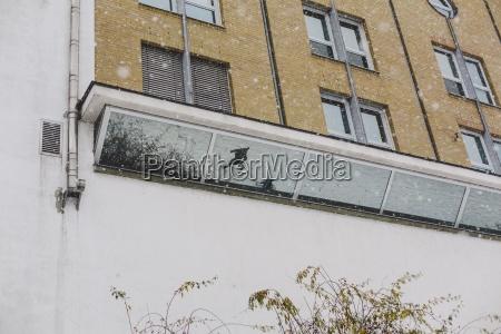 germany saxony leipzig plagwitz facade with