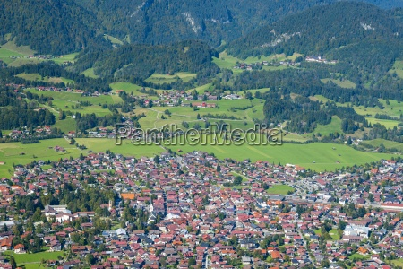germany bavaria allgaeu view to oberstdorf