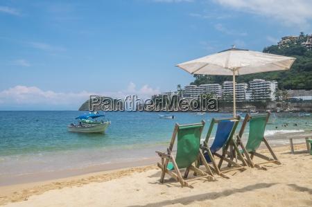 mexico banderas bay mismaloya beach with