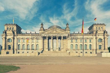 germany berlin view to reichstag at