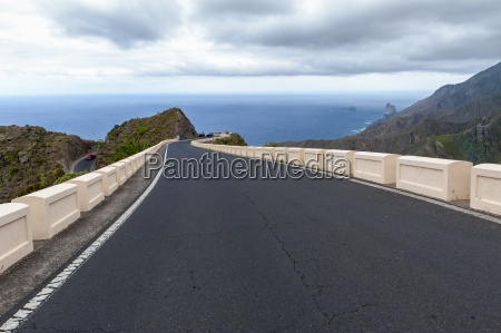 spain canary islands tenerife road to