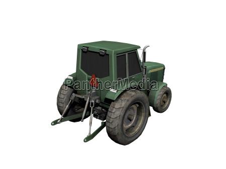 traktor in der landwirtschaft freigestellt