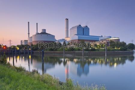 germany hamburg coal power plant in