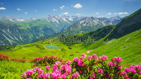 germany bavaria allgaeu alps fellhorn view