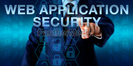 end user touching web application security