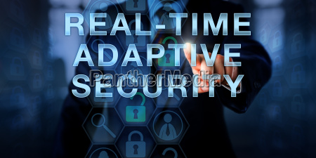 manager touching real time adaptive security