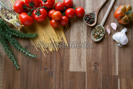 ingredients for italian pasta dishes