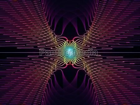 illusionen von gitterlinien