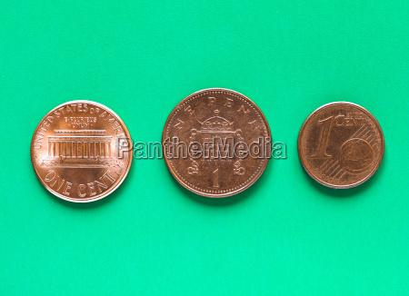 dollar euro und pfund 1