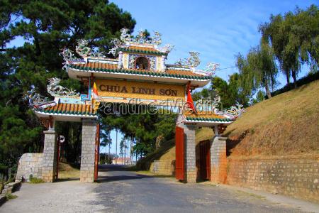 linh son pagode da lat