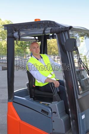 forklift truck driver