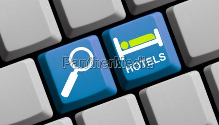 online nach hotels suchen