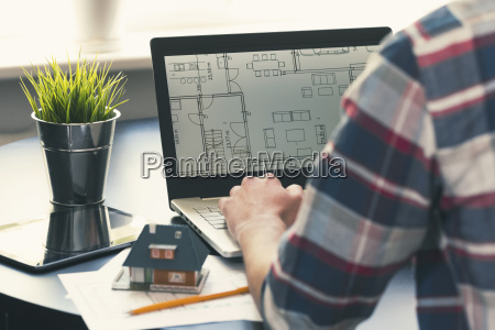 architect interior designer occupation man