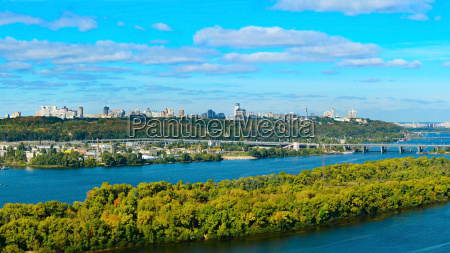 kiev cityscape ukraine